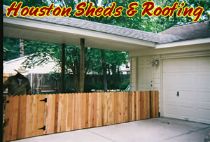 fence installation & repair houston woodlands tomball cypress