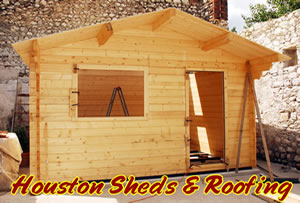 wooden rustic buildings houston shed construction company